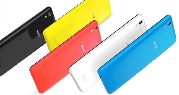 گوشی پایین رده Gionee P5W با بدنه فلزی و رنگ های متنوع معرفی شد