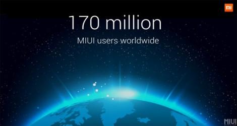 بیش از ۱۷۰ میلیون کاربر در جهان از رابط کاربری MIUI