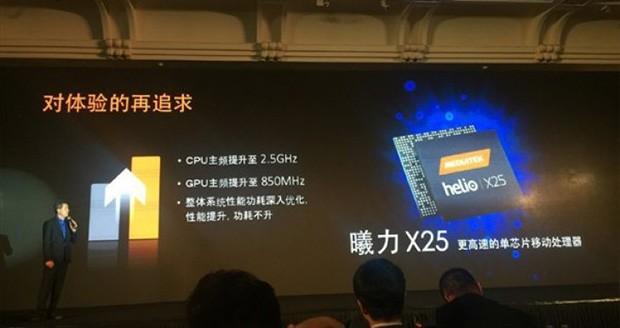 مدیاتک Helio X25 ؛ تراشه اختصاصی گوشی میزو پرو ۶