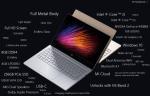 رونمایی از شاهکاری دیگر mi NoteBook Air مدل ۴G مجهز به ویندوز۱۰