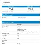 Xiaomi Meri Geekbench 2