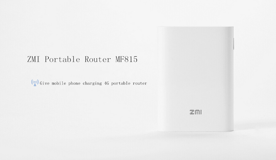 Xiaomi ZMI MF815 7800mAh Power Router