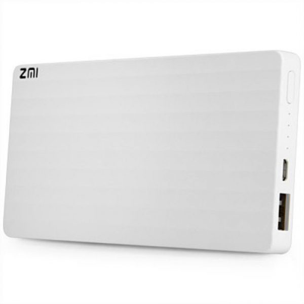 Xiaomi ZMI PB810 10000mAh Fast Charging Mobile Power Bank for Cellphone Tablet PC White 4 nologo 600x600