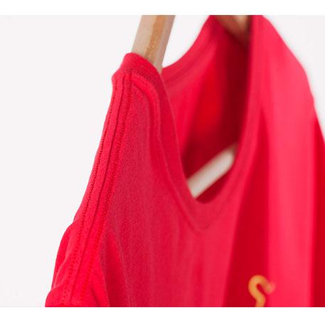 تی شرت قرمز شیائومی