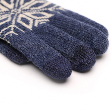 xiaomi mi mens touchscreen wool winter gloves blue beige 02 3597 1480497841