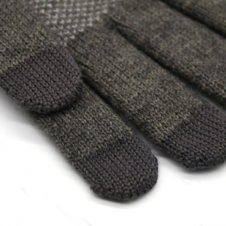 xiaomi mi mens touchscreen wool winter gloves dark gray light gray 04 3598 1480498865