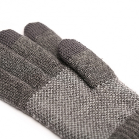 xiaomi mi mens touchscreen wool winter gloves dark gray light gray 2 3598 1480498865