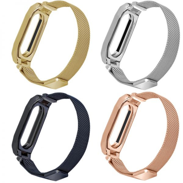For Xiaomi Mi Band 2 Band Belt Magnetic Milanese Loop Replacement Strap For Xiaomi Miband 2