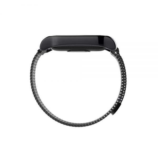 Mijobs Metal Strap For Xiaomi Mi Band 2 Screwless Stainless Steel Bracelet For MiBand 2 Wristbands