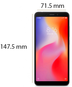 شیائومی Redmi 6 display