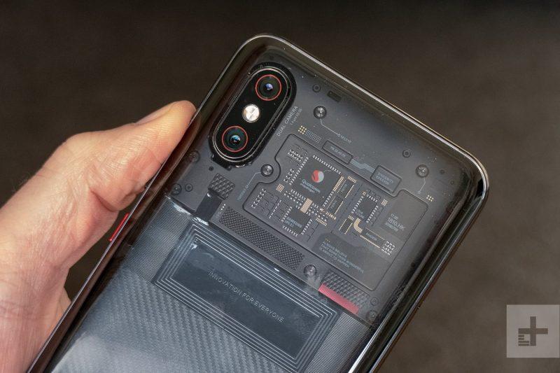 شیائومی Mi 8 Pro camera