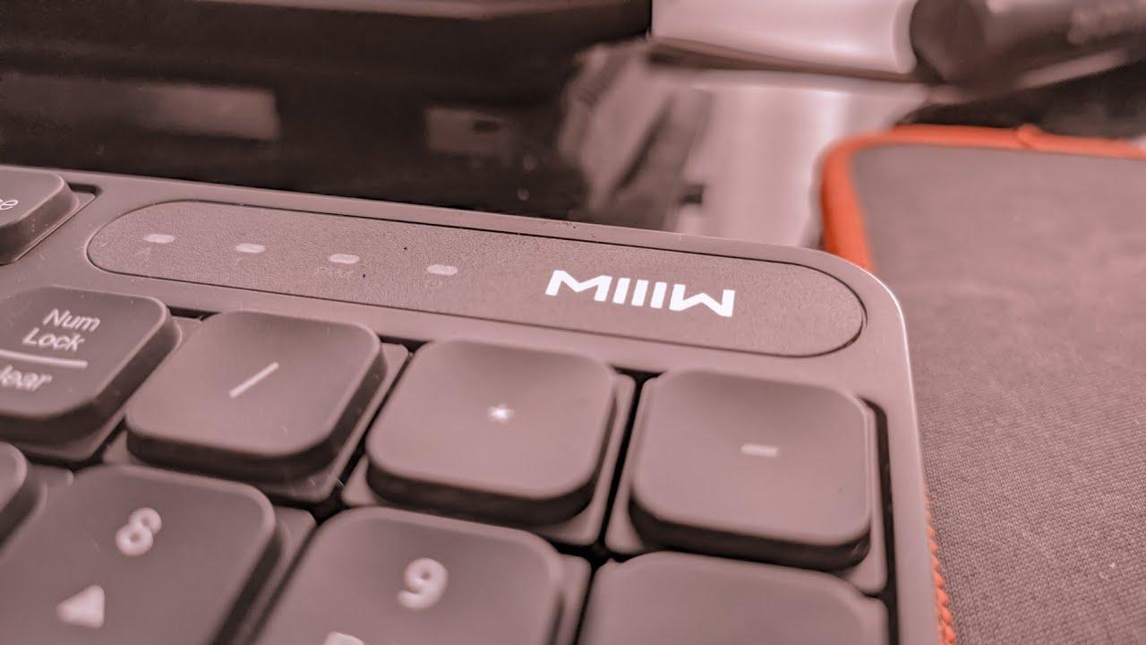 محصول شیائومی - xiaomi مجموعه کیبورد و ماوس بیسیم شیائومی MIIIW مدل MWWC01